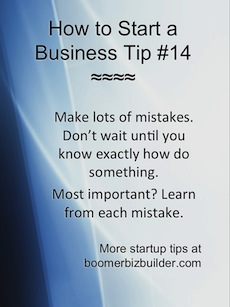 startup business tip